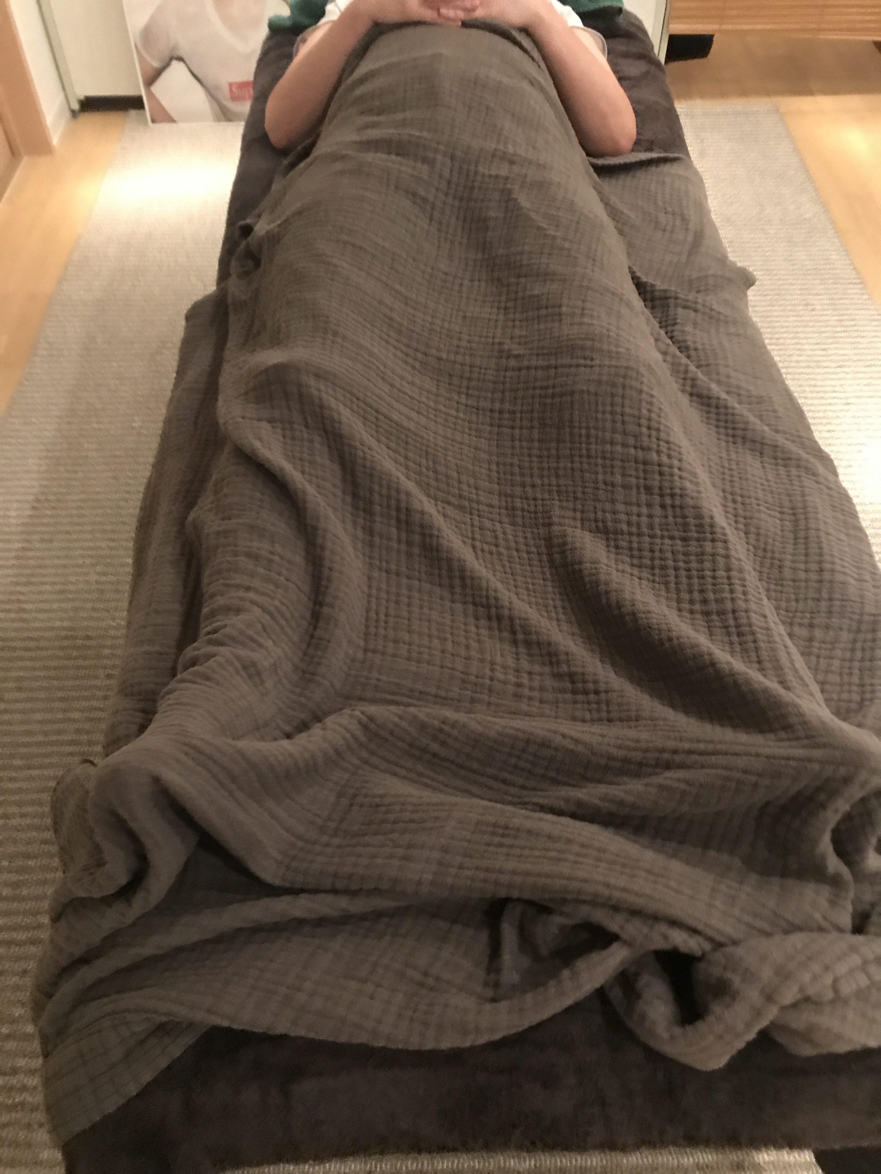 股関節の激痛で歩けなくなったという、練馬区江古田在住の方の症例